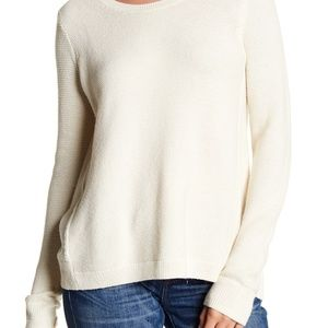 Cream Madewell Riverside Textured Knit Sweater